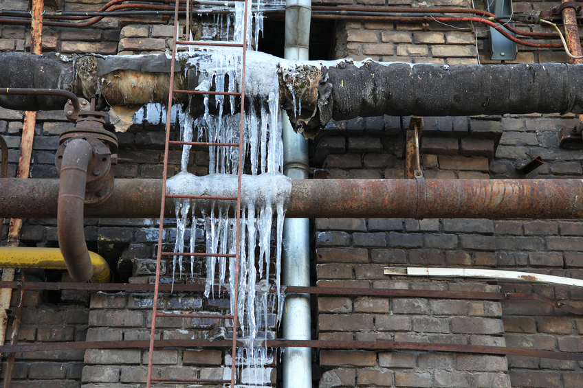 Commercial Plumbing Contractor in Dearborn MI | Monroe Plumbing & Heating - frozen