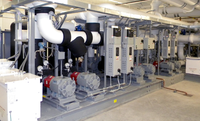 Commercial Mechanical Contractor Monroe MI - Industrial HVAC | Monroe Plumbing & Heating - pipes